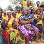 The Water Project: Lokomasama, Gbonkogbonko, Kankalay Primary School -  Singing At The Dedication