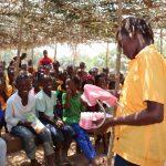 The Water Project: Lokomasama, Gbonkogbonko, Kankalay Primary School -  Student Demonstrating How To Clean Teeth
