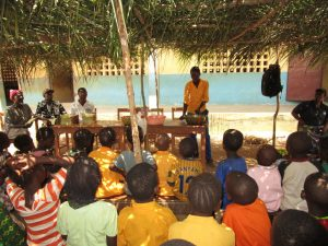 The Water Project:  Student Leading On Handwashing