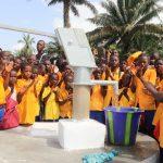 The Water Project: Lokomasama, Gbonkogbonko, Kankalay Primary School -  Students At The Dedication