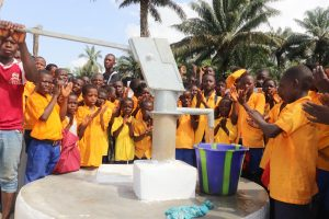 The Water Project:  Students At The Dedication