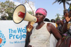 The Water Project:  Yando Kamara Leading A Song