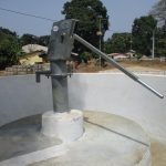 The Water Project: Lungi, Mahera, Mahera Health Clinic -  Finished Project