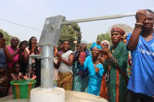 The Water Project:  Community Members Celebrating The Well