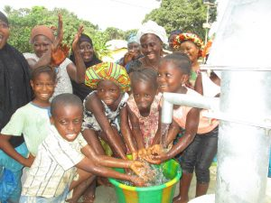 The Water Project:  Kids Happy Playing With Water