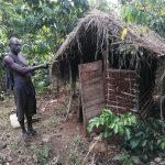The Water Project: Kinuma Kyarugude Community -  Latrine