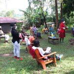 The Water Project: Emachembe Community, Hosea Spring -  Facilitator Shigali Explains Modes Of Virus Transmission