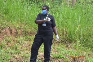 The Water Project:  Team Leader Emmah With Protective Gear During Training
