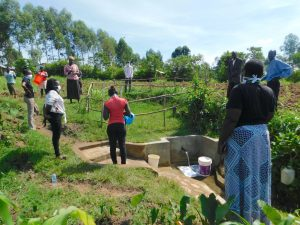 The Water Project:  Training At Kweyu Spring