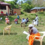 The Water Project: Ulagai Community, Rose Obare Spring -  A Community Health Worker Speaks At Training
