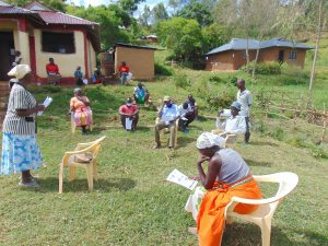 The Water Project:  A Community Health Worker Speaks At Training