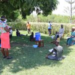 The Water Project: Shihingo Community, Mangweli Spring -  Training