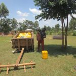The Water Project: St. Gerald Mayuge Secondary School -  Delivering Water For Construction