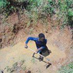 The Water Project: Shikangania Community, Abungana Spring -  Excavation Begins