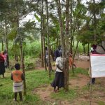 The Water Project: Bukhakunga Community, Ngovilo Spring -  Social Distancing
