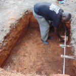 The Water Project: Kapsaoi Primary School -  Measuring Tank Drawing Point