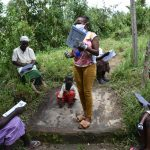 The Water Project: Ingavira Community, Laban Mwanzo Spring -  Trainer Emphasizes A Point