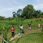 The Water Project: Eshiakhulo Community, Kweyu Spring -  Social Distancing At The Training