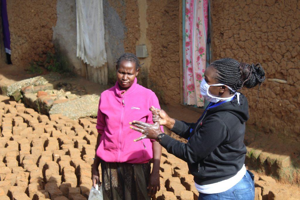 The Water Project : 11-kenya4579-covid19-handwashing-demonstration-2
