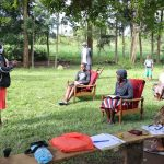 The Water Project: Mukhangu Community, Okumu Spring -  Training Session
