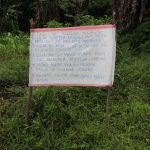 The Water Project: Ematetie Community, Weku Spring -  The Chart Installed At The Spring
