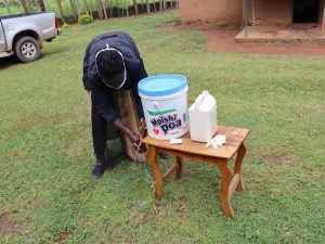 The Water Project:  Using Local Materials To Make Handwashing Stations