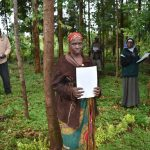 The Water Project: Namarambi Community, Iddi Spring -  Women On The Frontline In Covid Fight