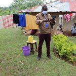 The Water Project: Irungu Community, Irungu Spring -  Handwashing Demonstration