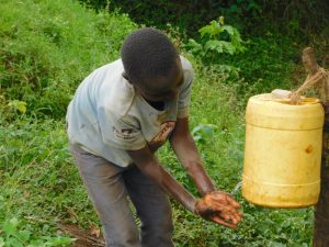 The Water Project:  Rinsing Clean Hands