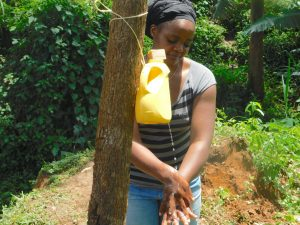 The Water Project:  Christine Handwashing