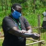 The Water Project: Sichinji Community, Kubai Spring -  Emmah Demonstrates Handwashing