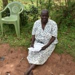 The Water Project: Musango Community, Emufutu Spring -  An Elderly Citizen Attending The Training