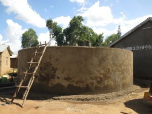The Water Project:  Outer Cement Curing