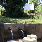 The Water Project: Chegulo Community, Yeni Spring -  The Chart At The Water Point