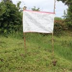 The Water Project: Lutali Community, Lukoye Spring -  The Reminder Chart At The Spring