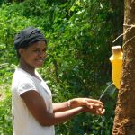 The Water Project: Mungakha Community, Asena Spring -  Smiles While Handwashing