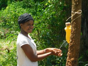 The Water Project:  Smiles While Handwashing