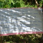 The Water Project: Musango Community, M'muse Spring -  Caution Chart Installed At The Spring