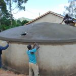 The Water Project: Kapsaoi Primary School -  Tank Skirting