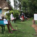 The Water Project: Lutali Community, Lukoye Spring -  Training In Session