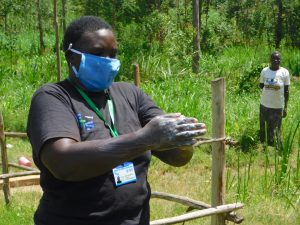 The Water Project:  Proper Handwashing Demonstration