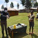 COVID-19 Prevention Training Update at Simboyi Community, Imbiru Spring