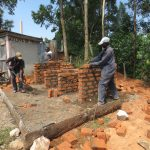 The Water Project: St. Gerald Mayuge Secondary School -  Latrine Construction