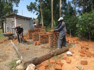 The Water Project:  Latrine Construction
