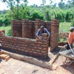 The Water Project: Kapsaoi Primary School -  Latrine Wall Construction