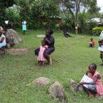 The Water Project: Irungu Community, Irungu Spring -  Social Distancing