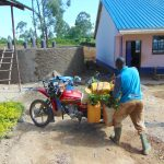 The Water Project: Jinjini Friends Primary School -  Water Delivery By Bike