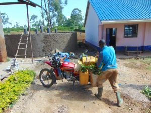 The Water Project:  Water Delivery By Bike