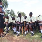 The Water Project: St. Gerald Mayuge Secondary School -  Training In Progress