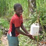 The Water Project: Emukoyani Community, Ombalasi Spring -  Handwashing